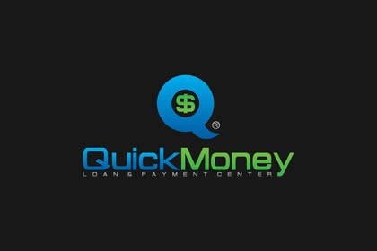 Graphic Design Contest Entry #140 for Design a logo for QuickMoney Loan and Payment Center