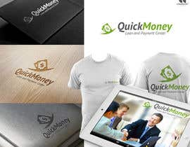 nº 85 pour Design a logo for QuickMoney Loan and Payment Center par crossartdesign