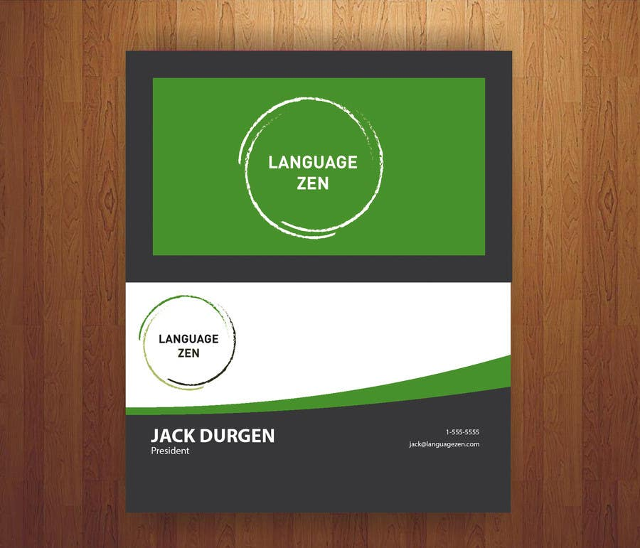 #50 for Design some Business Cards by NicolasFragnito
