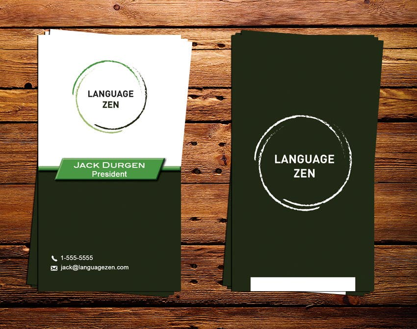 #38 for Design some Business Cards by IllusionG