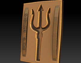 #36 for Diving theme for future bronze belt buckle by landofdumbs