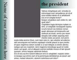#8 for Template/Theme for Annual Report - InDesign (LAYOUT ONLY - no content) af mohamedismail87