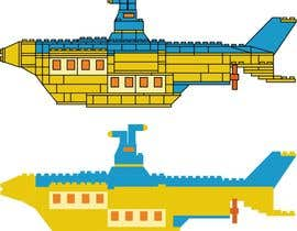#4 for Lego Submarine Graphic Design 2D af majajni