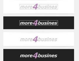 #27 para Design a Logo for More 4 Business por erupt