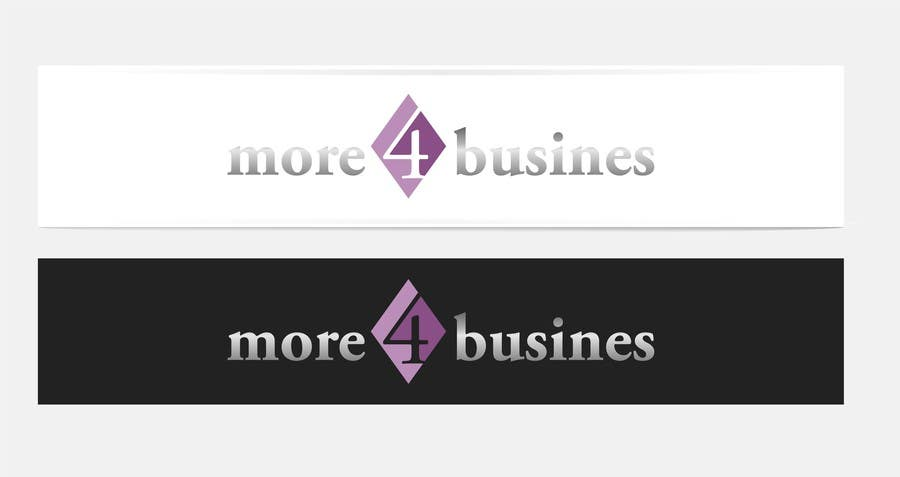 #30 for Design a Logo for More 4 Business by erupt