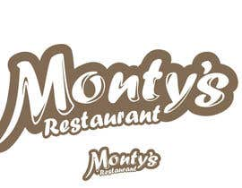 #223 cho Design a Logo for Monty's Restaurant bởi rogeliobello