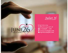 #17 untuk Gifts & Jewellery Couple Store 2 Business Card Design oleh TheDesignA