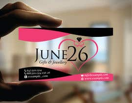 #26 untuk Gifts & Jewellery Couple Store 2 Business Card Design oleh TheDesignA