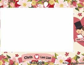 bianart tarafından Design a layout template (photobooth) - chris and lee lian için no 4