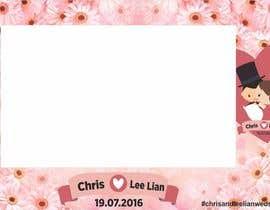 bianart tarafından Design a layout template (photobooth) - chris and lee lian için no 5