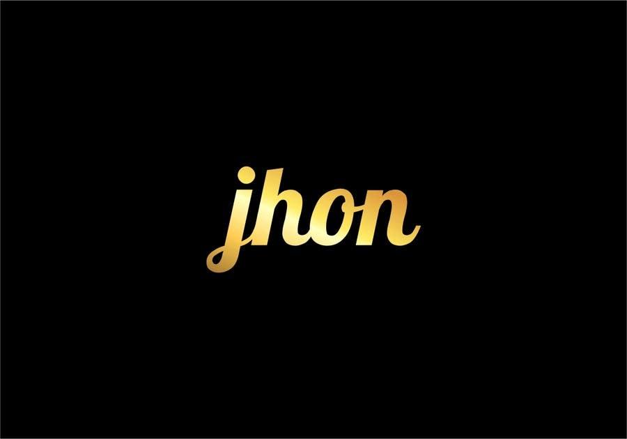 Bài tham dự cuộc thi #92 cho Design a Logo for jhon