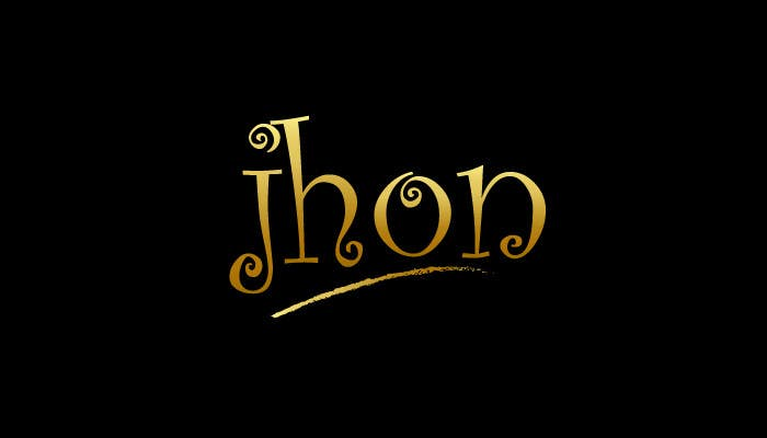 Bài tham dự cuộc thi #122 cho Design a Logo for jhon