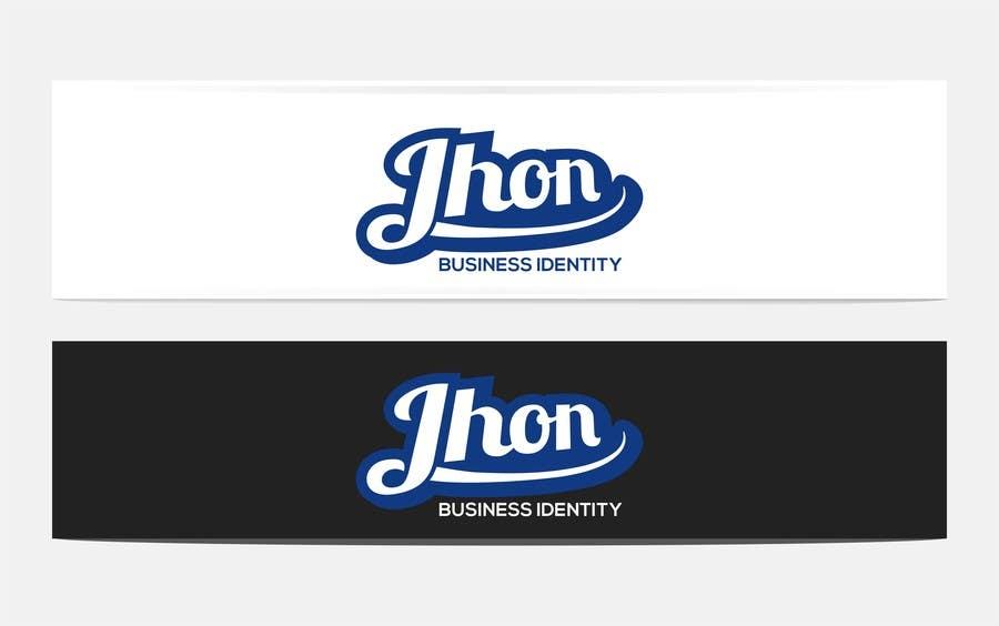 Bài tham dự cuộc thi #63 cho Design a Logo for jhon