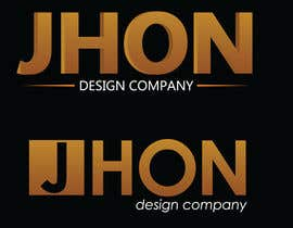 #75 for Design a Logo for jhon by Anastasiya666