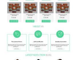 Nro 19 kilpailuun Design a WordPress Mockup for health site käyttäjältä Bkmraj