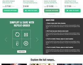 Nro 2 kilpailuun Design a WordPress Mockup for health site käyttäjältä doomshellsl