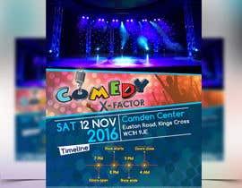 Mohamedsaa3d tarafından Comedy event Flyer design için no 4