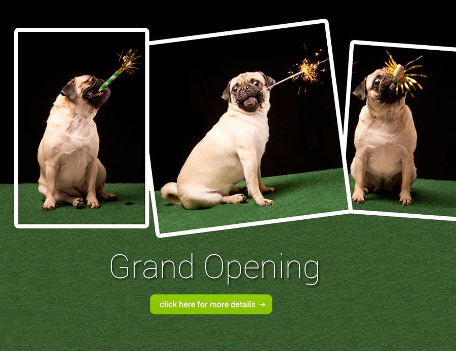 Design a Banner for grand opening için 5 numaralı Yarışma Girdisi