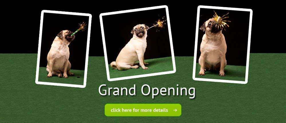 Design a Banner for grand opening için 16 numaralı Yarışma Girdisi