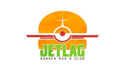 ramoncarlomaez tarafından Design a Logo for Jetlag Burger Bar & Club için no 2
