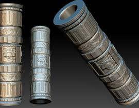 Nro 36 kilpailuun Create a 3D Model of a Column for a Restaurant Design käyttäjältä OxideAnimation