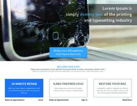 manishb1 tarafından Ontwerp een Website Mockup for repair site için no 6