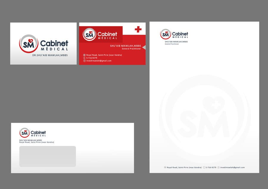 #56 for Corporate Identity/ Branding for Medical Practice/ Doctor by catalinorzan