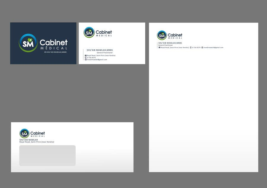 #59 for Corporate Identity/ Branding for Medical Practice/ Doctor by catalinorzan