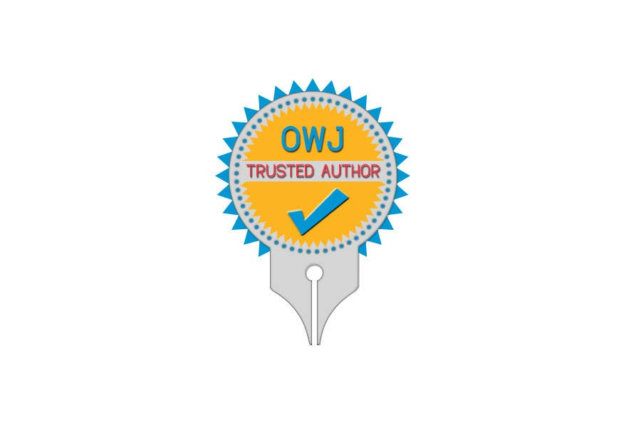 #41 for Design a Trusted Writer Badge by colourLIGHT