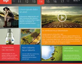 #39 untuk Design two simple pages for a website (PSD) oleh sanaqila