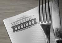 Graphic Design Konkurrenceindlæg #303 for Design a Logo for Subidoo Restaurant