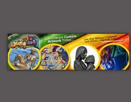 SJADDesigns tarafından Banner for Artist Website için no 27