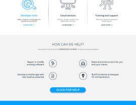 xsasdesign tarafından Design a Website Mockup for Tech Company için no 7