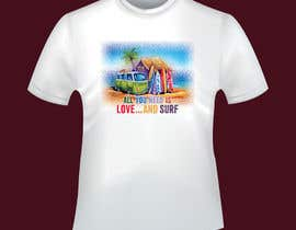 Nro 12 kilpailuun Design a Funky  Surf T-Shirt käyttäjältä pixelart1