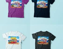 Nro 14 kilpailuun Design a Funky  Surf T-Shirt käyttäjältä BlueGenie95