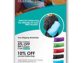 """YKNB tarafından Logo & Promo Flyer (5"""" x 7"""") for HubbaBag.com için no 14"""
