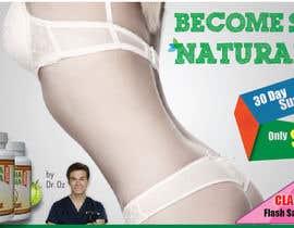 nº 36 pour Design a Banner for A Diet Advertisment par shahriarlancer