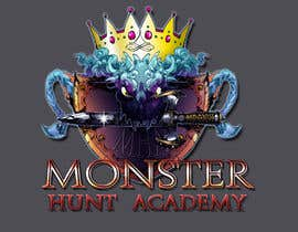 Nro 10 kilpailuun Design a crest for a fantasy medieval monster academy käyttäjältä ithakinz