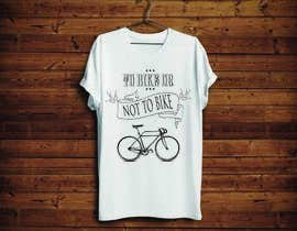 KononikhinaN tarafından 1 color Trendy Cool Hipster Alternative Bicycle T-Shirt Design(s) için no 16