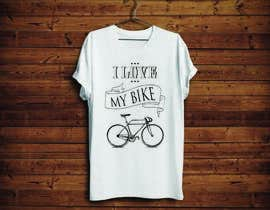 KononikhinaN tarafından 1 color Trendy Cool Hipster Alternative Bicycle T-Shirt Design(s) için no 23