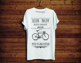 KononikhinaN tarafından 1 color Trendy Cool Hipster Alternative Bicycle T-Shirt Design(s) için no 24