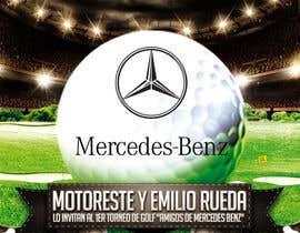 Nro 23 kilpailuun Design an Invitation to a golf tournament käyttäjältä jacklai8033399