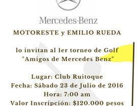 Nro 4 kilpailuun Design an Invitation to a golf tournament käyttäjältä viratkhanna19