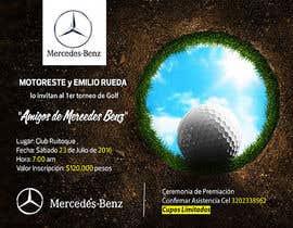 Nro 17 kilpailuun Design an Invitation to a golf tournament käyttäjältä AmmarElramsisy
