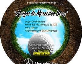 Nro 20 kilpailuun Design an Invitation to a golf tournament käyttäjältä AmmarElramsisy