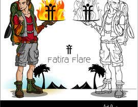 #62 for Character for Fatira Flare, A new upcoming restaurant in Mumbai. by hotpinkscorpion
