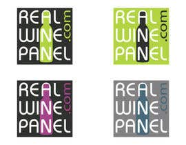 #5 for Design a Logo for the Real Wine Panel by tobyquijano