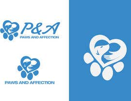 "ryanhortizuela tarafından Design a Logo for ""Paws and Affection"" için no 25"