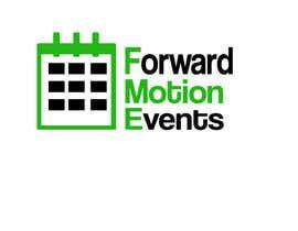 yanatodorova1 tarafından logo designed for Forward Motion Events için no 4