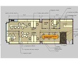 gandhes tarafından Office floor plan and furniture layout için no 27